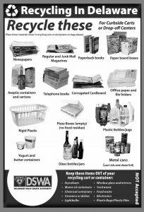 DSWA Recyling Rules